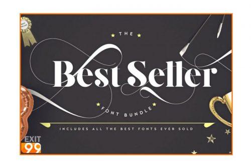 Best Seller Font Bundle