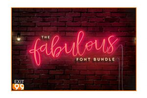 The Fabulous Font Bundle